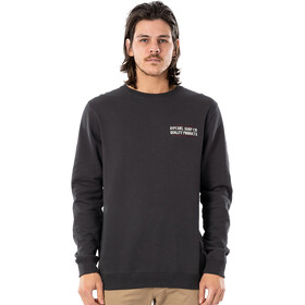 Rip Curl Garage Crew Sweater Men, washed black